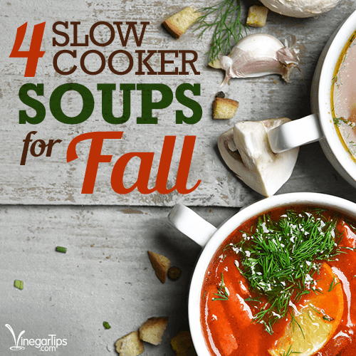 4 Slow Cooker Soups For Fall